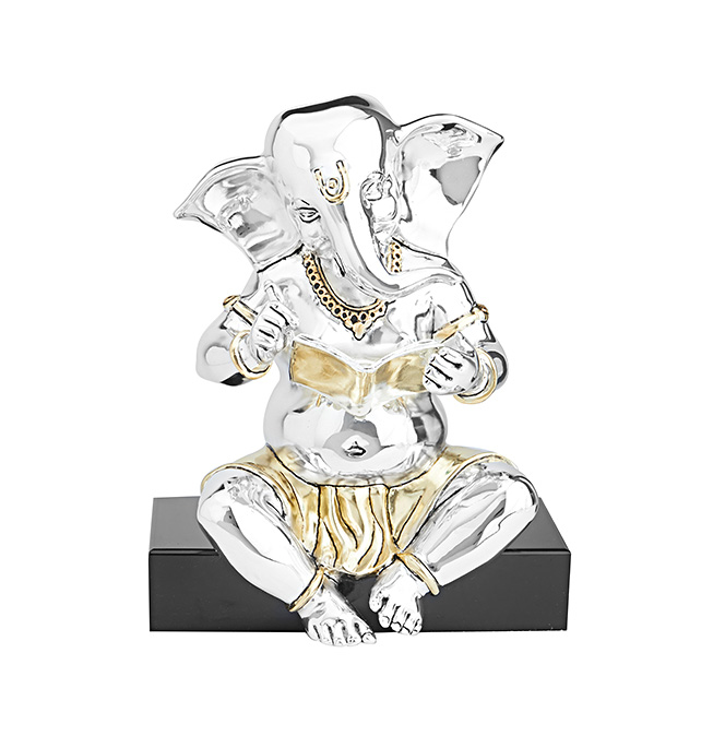 Intellectual Ganesha Idol