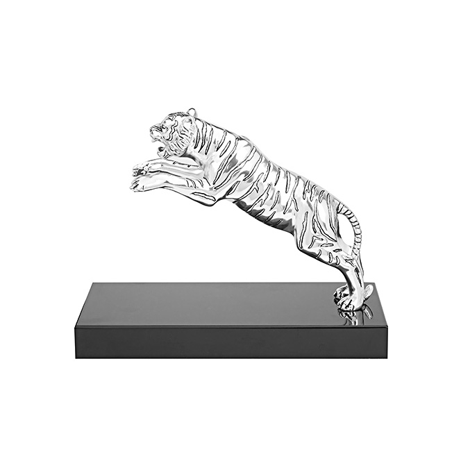 Leaping Tiger Figurine