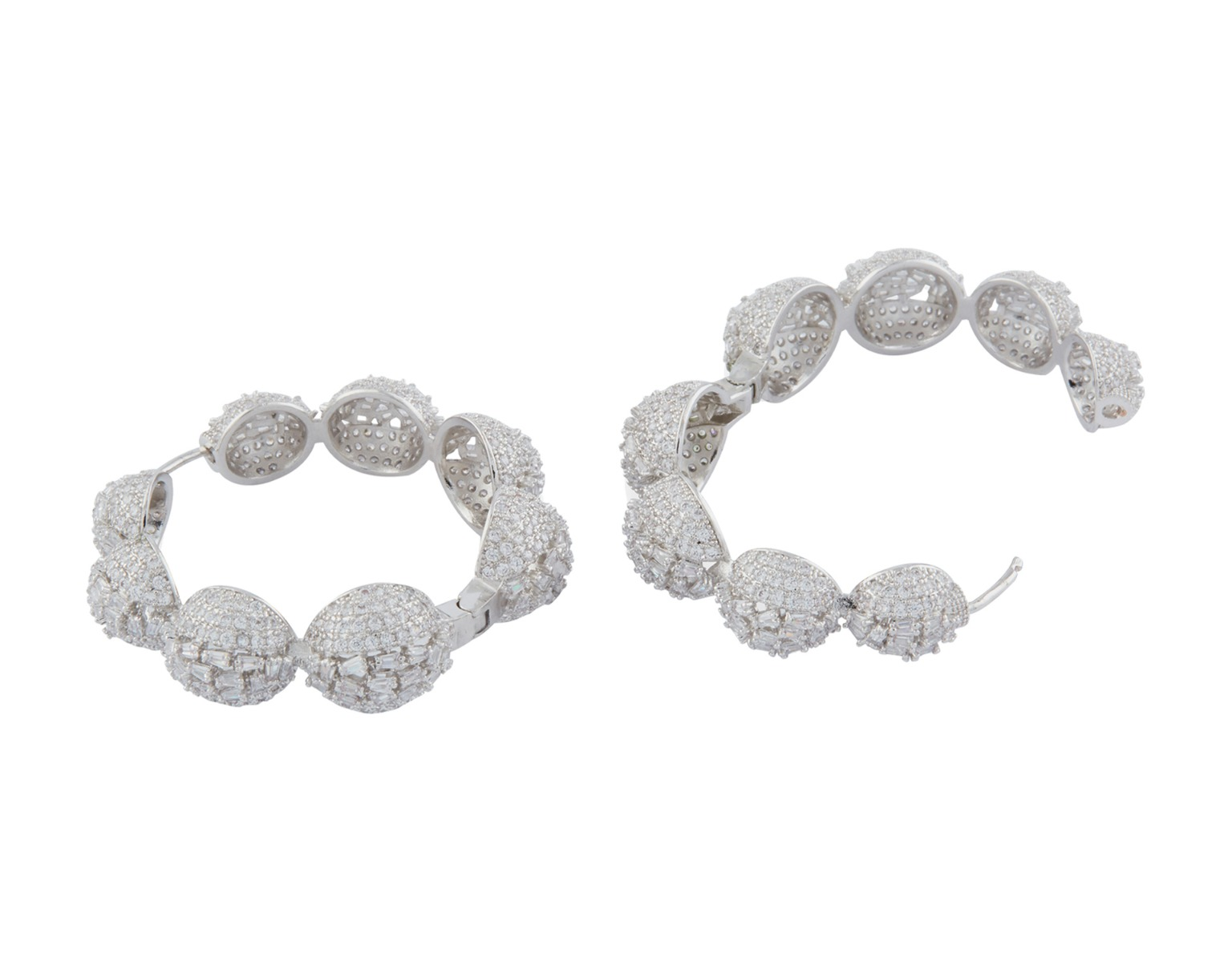 Bauble Hoop Earrings