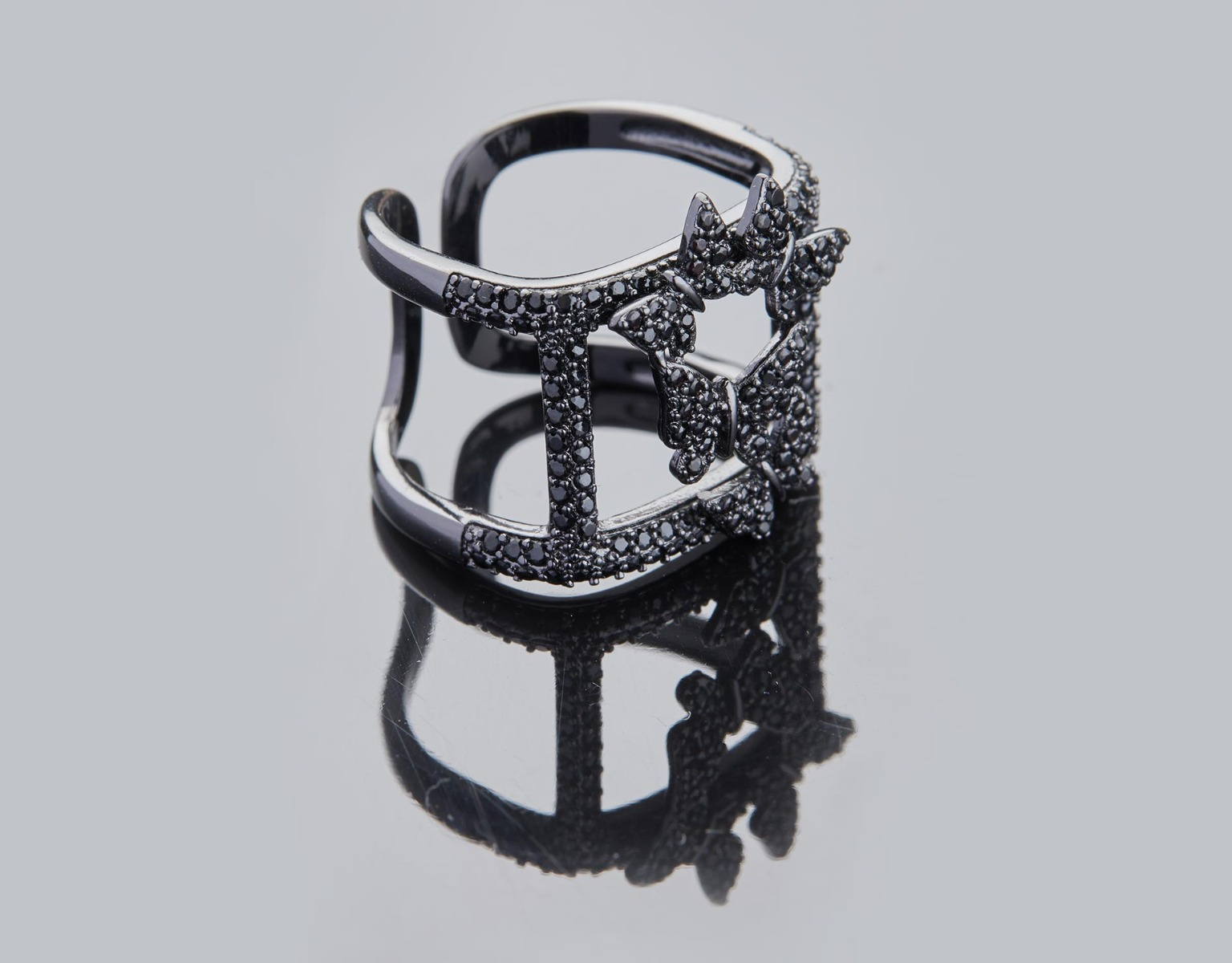Butterfly Frame Ring