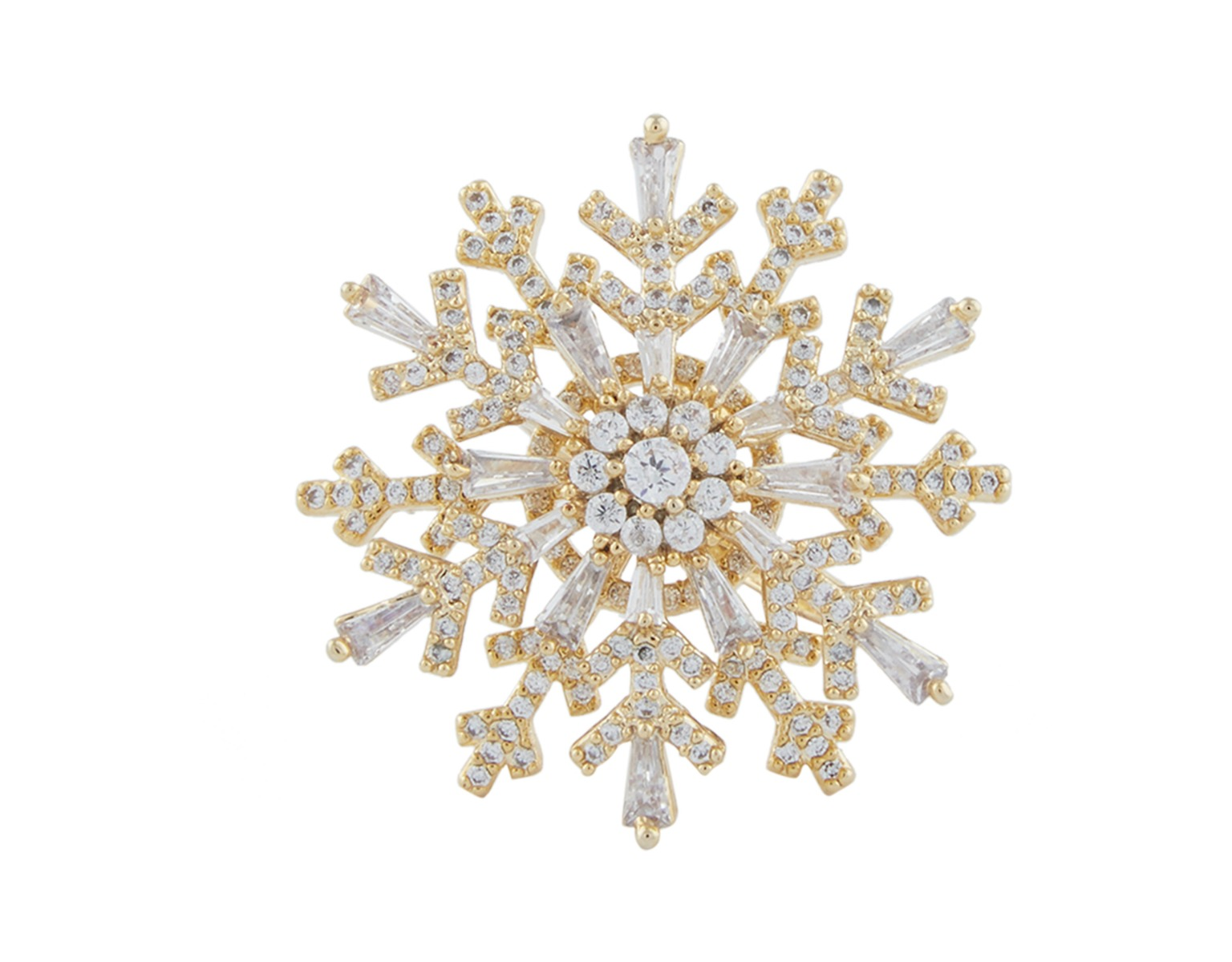 Duo Snow Flake Ring