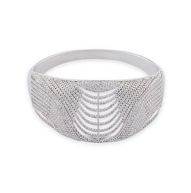 Wrapped In Glam Bangle