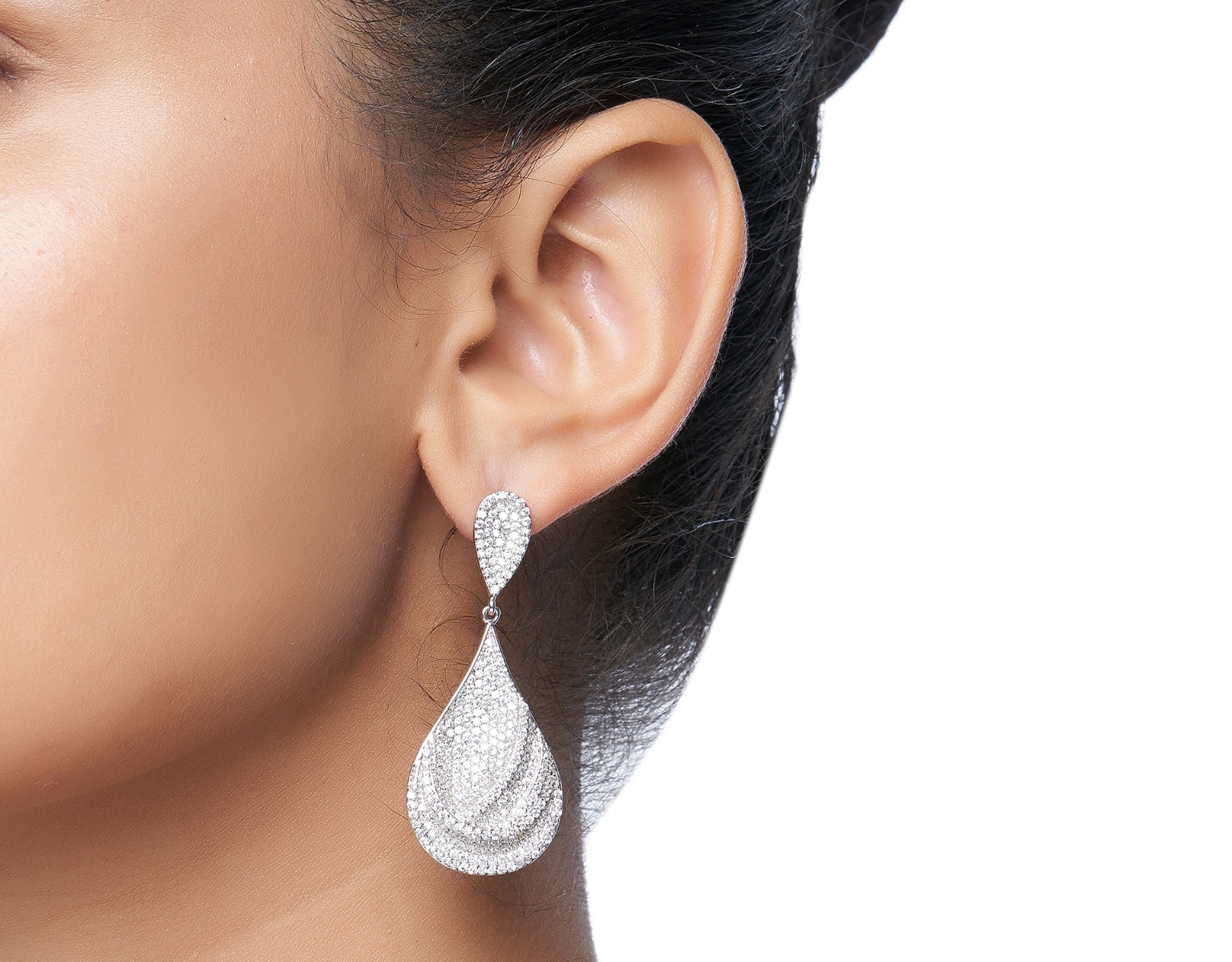 Dew Drop Petal Earrings