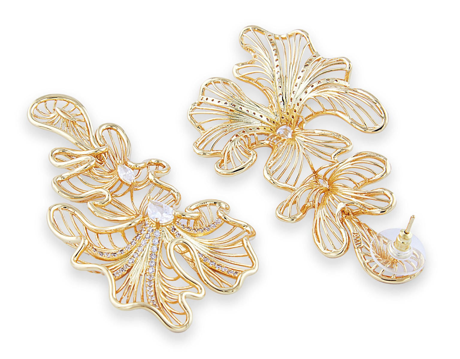 Ruffle Earrings