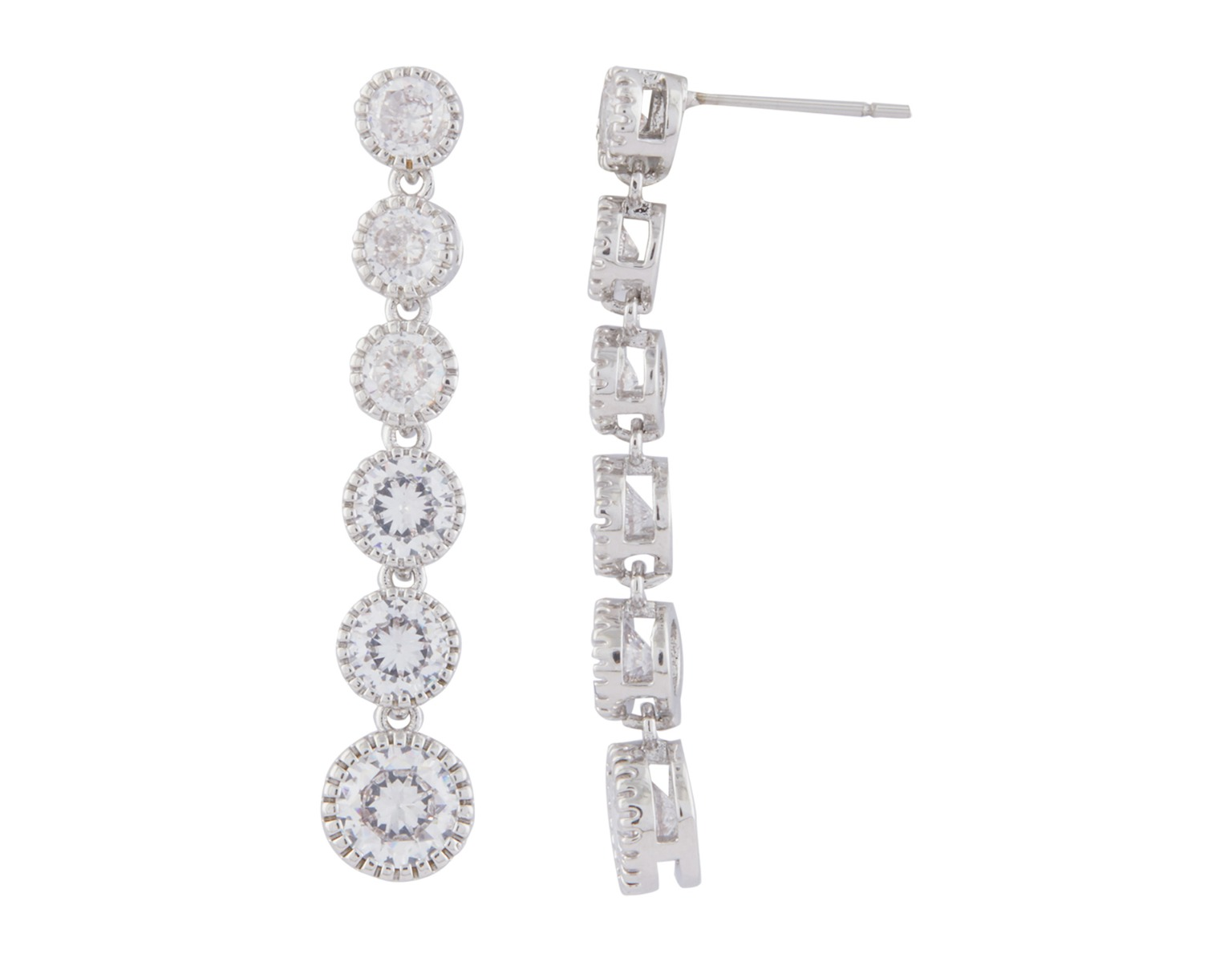 Solitaire Journey Earring