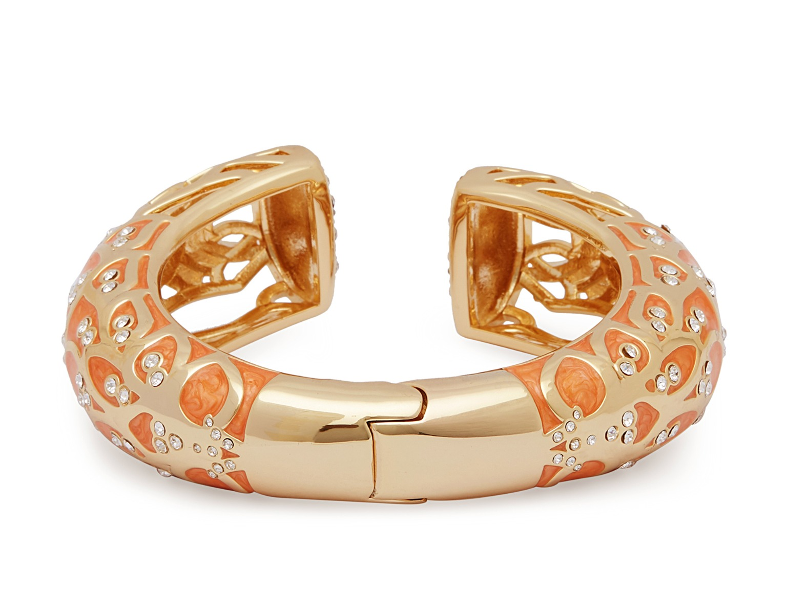 Tangerine Water Lotus Bangle