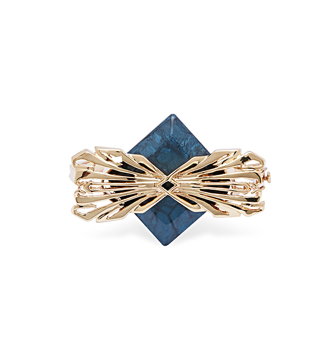 Blue Filigree Bracelet