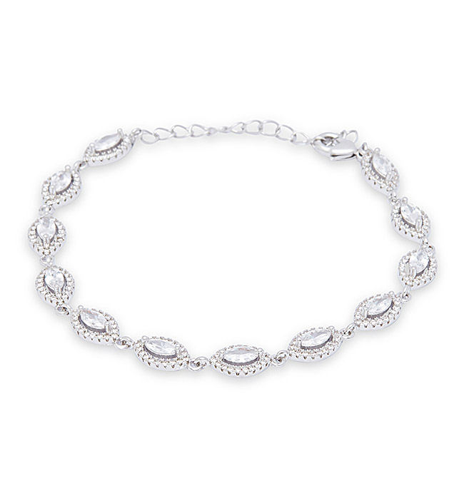 Marquise Classical Chain Bracelet