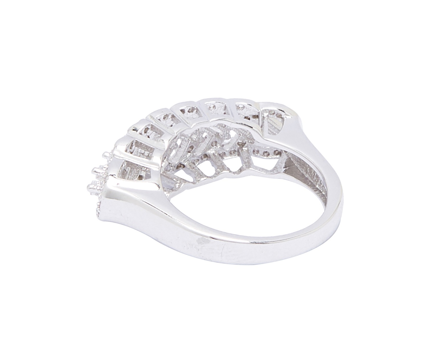 Proud-Stand Stackable Ring