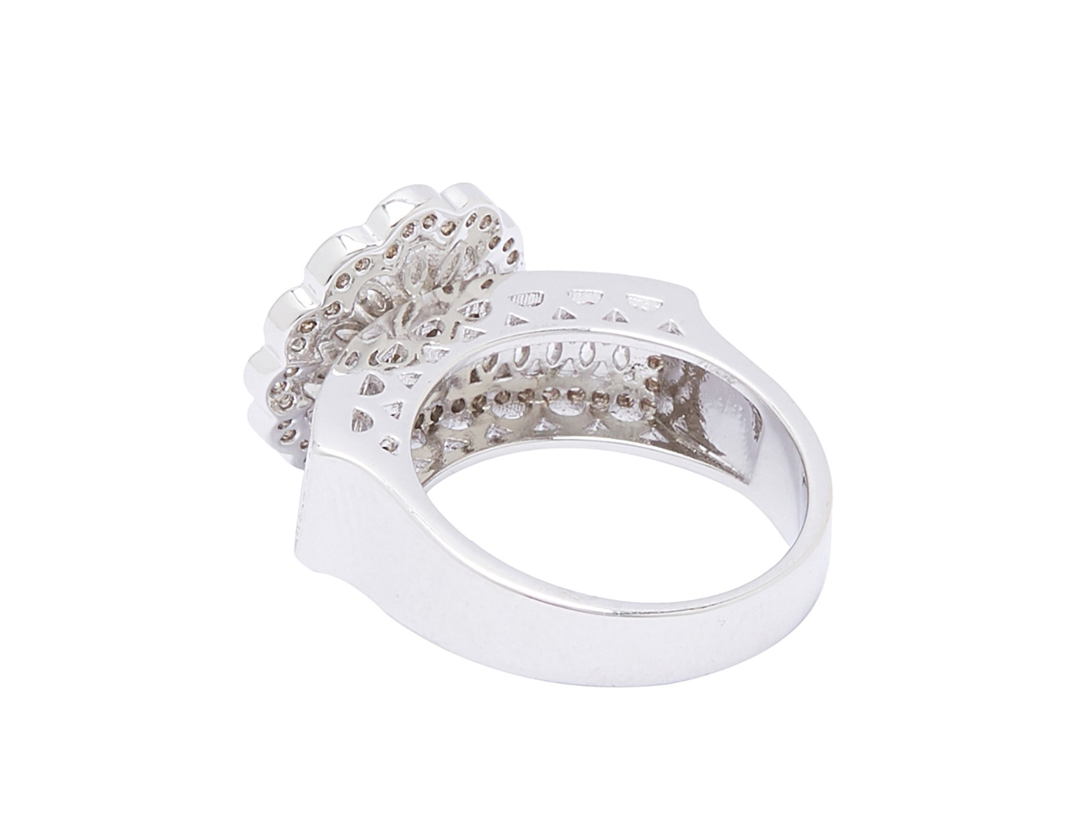 Scallop Flower Stackable Ring