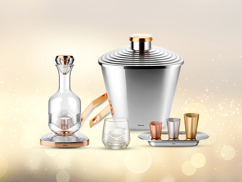 The Alpha Whiskey Decanter Gift Set