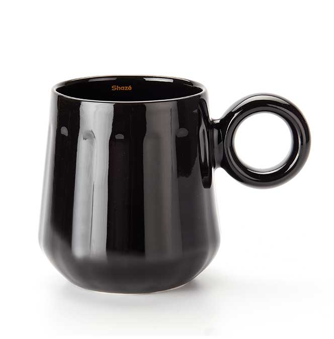The Black Coffee Mug Set - Set of 6