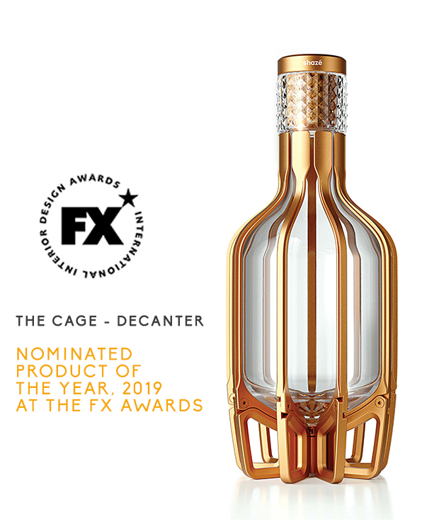 Cage Decanter